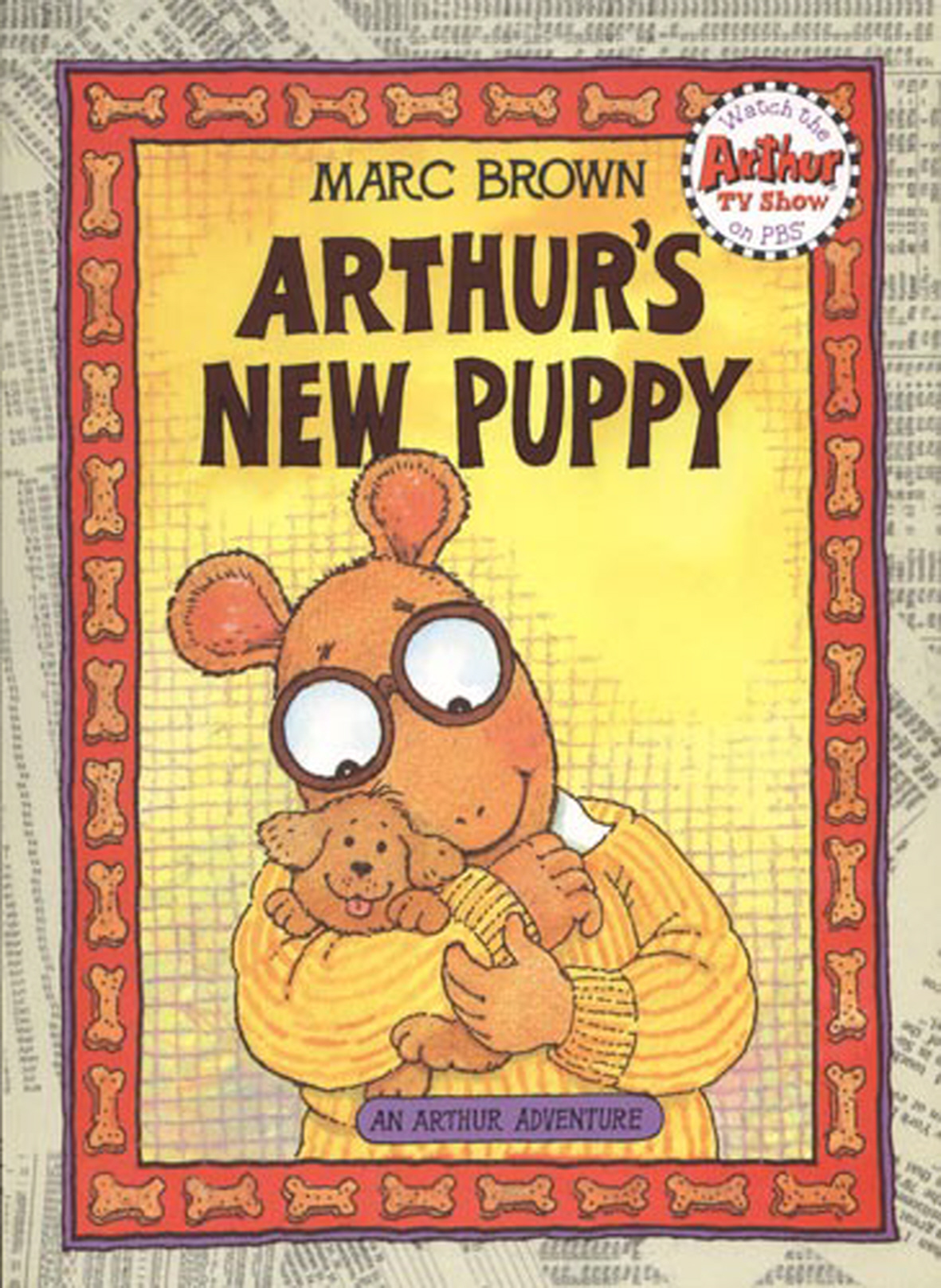 Arthurs New Puppy By Marc Brown