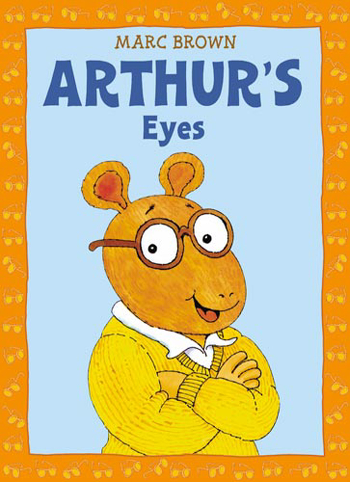 arthur's eyes: book & cd by marc brown - books - hachette australia