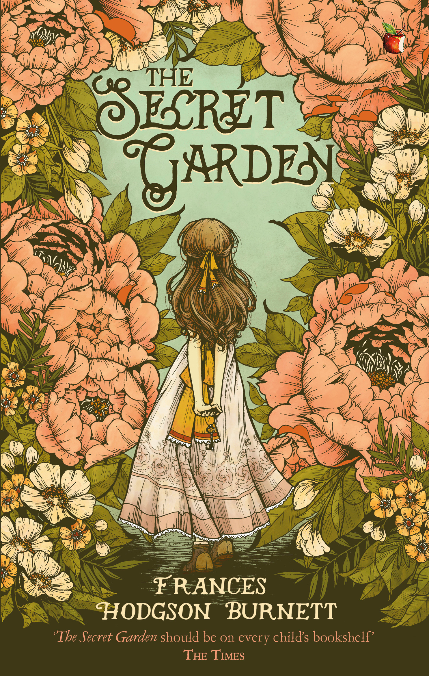 Secret Garden: The Secret Garden By Frances Hodgson Burnett