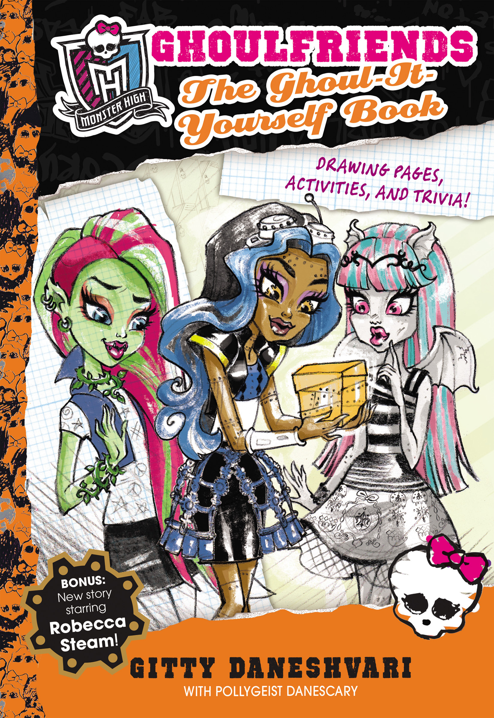 Monster high the ghoul it yourself book ghoulfriends forever book monster high interest age from c 8 years fiction general fiction childrens teenage adventure stories childrens teenage fantasy magical solutioingenieria Choice Image