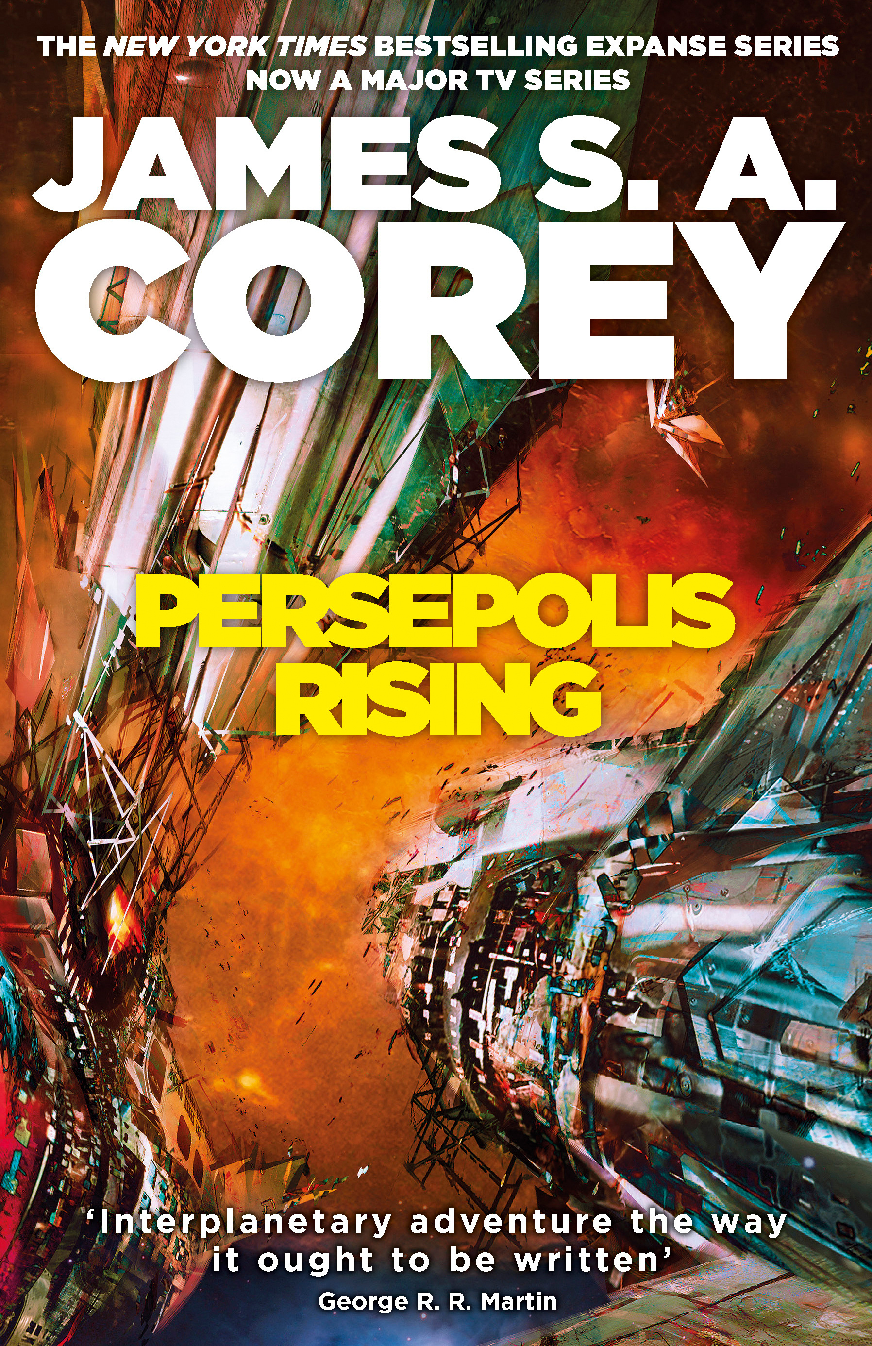 Persepolis Rising by James S A Corey