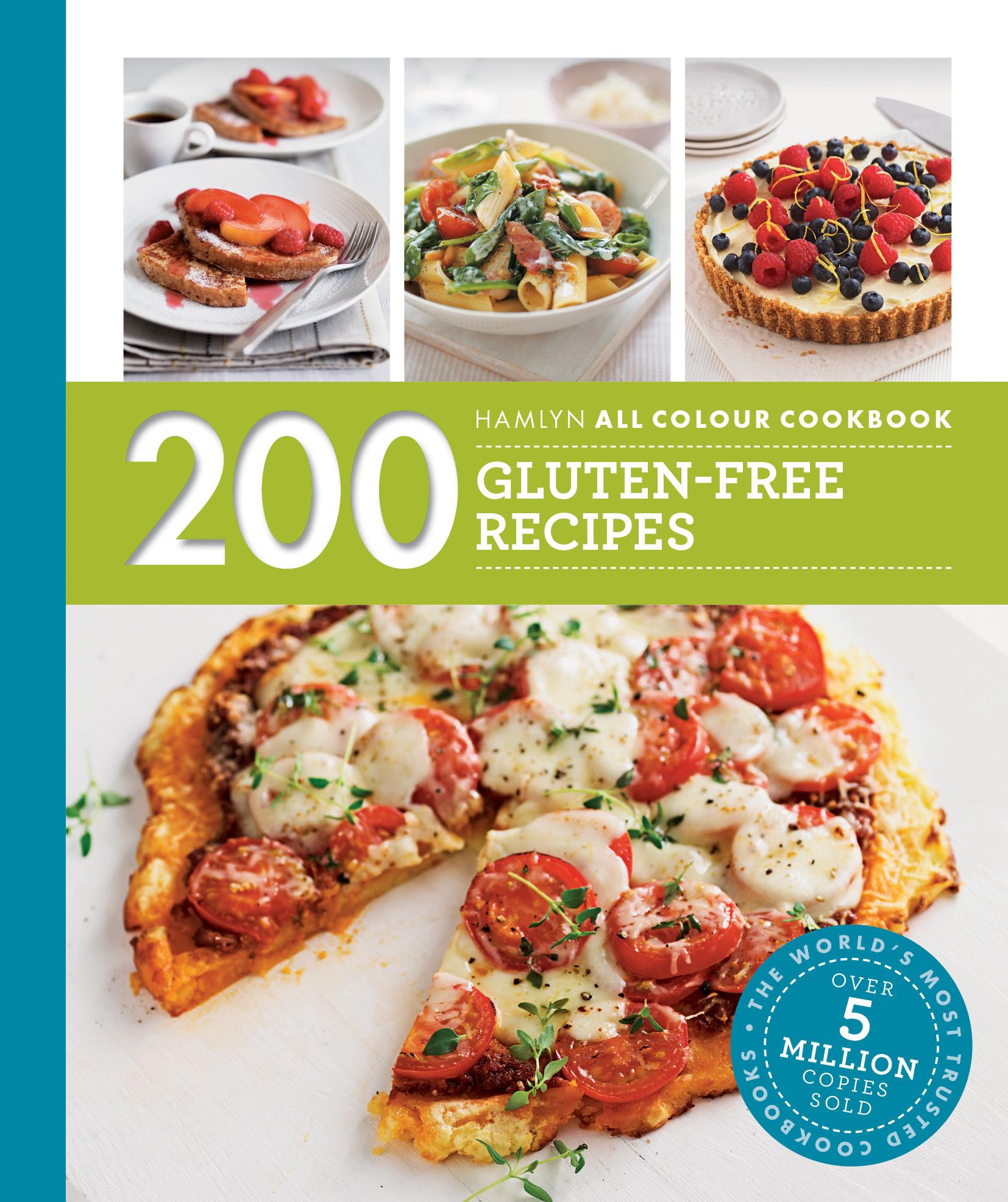 gluten free recipe books