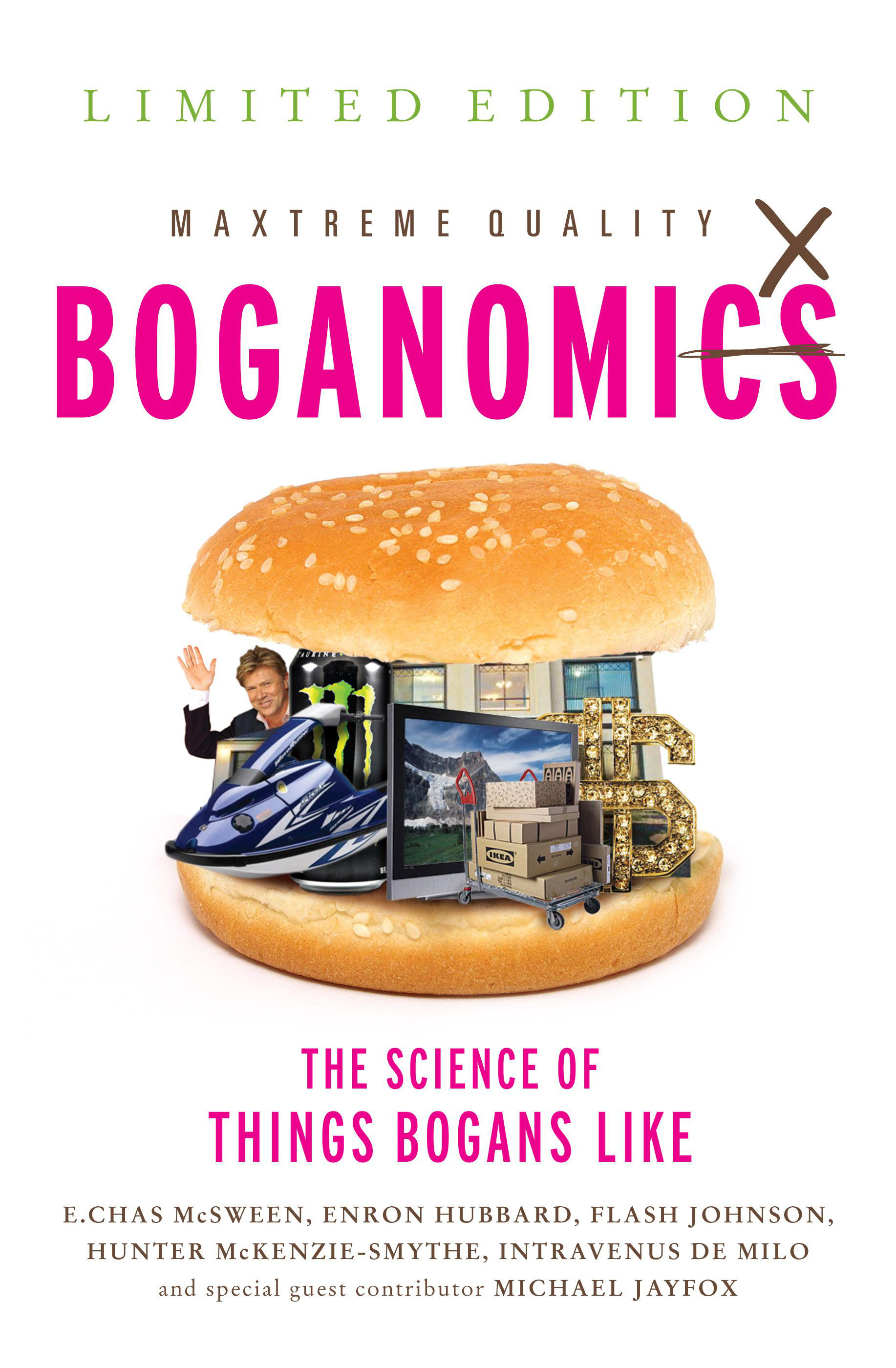Boganomics book