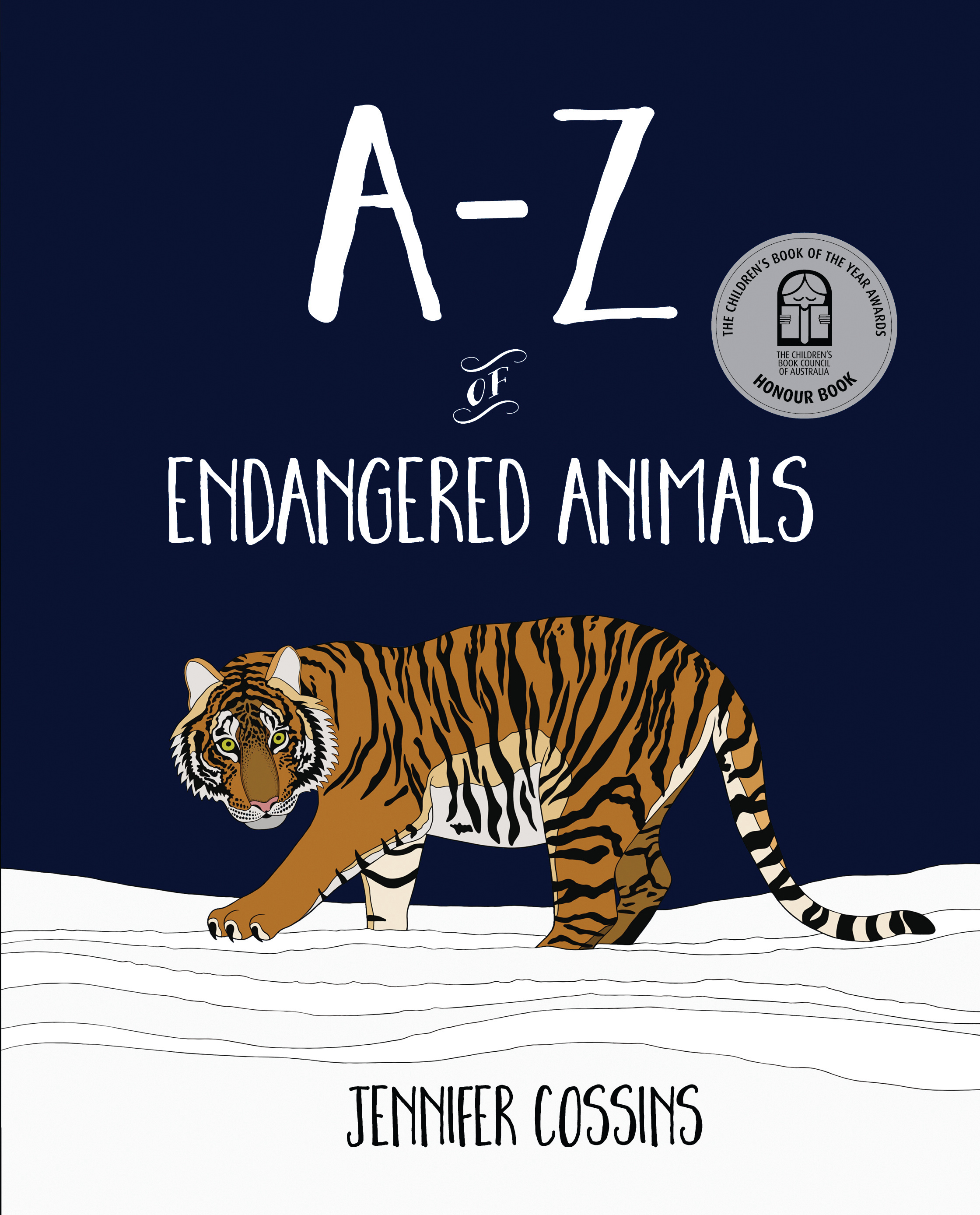 a z of endangered animals by jennifer cossins books hachette