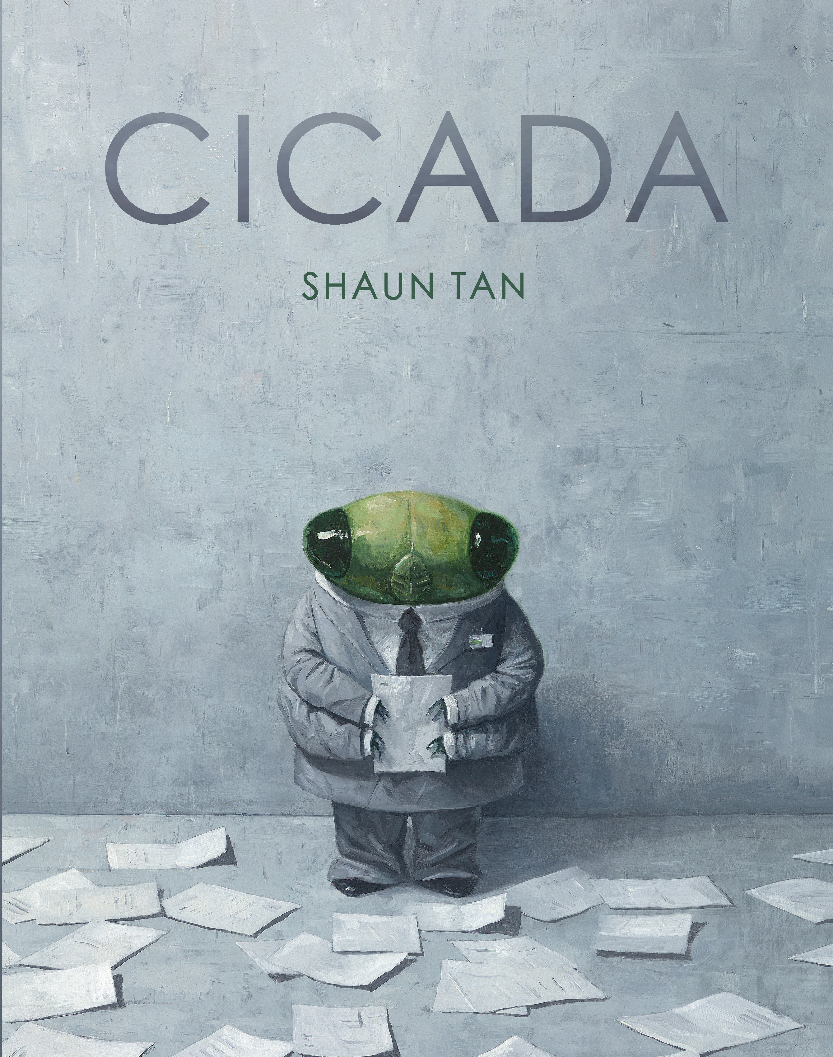 Image result for cicada by shaun tan