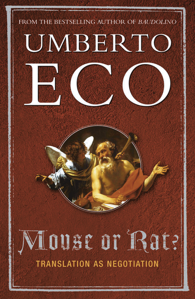 Books · Umberto Eco · Mouse or Rat?: Translation as Negotiation · Download  Image · Download Image