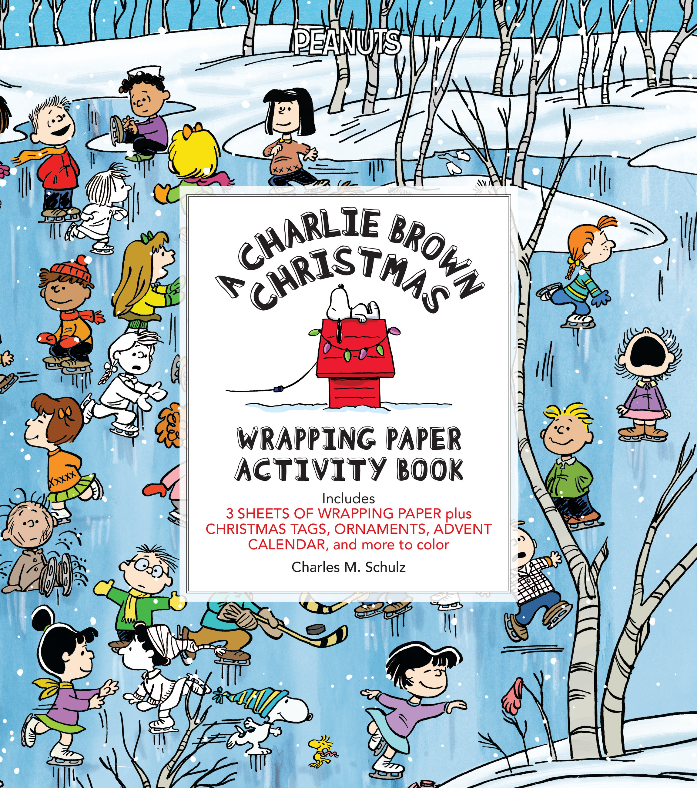 A Charlie Brown Christmas Wrapping Paper Activity Book by Charles ...