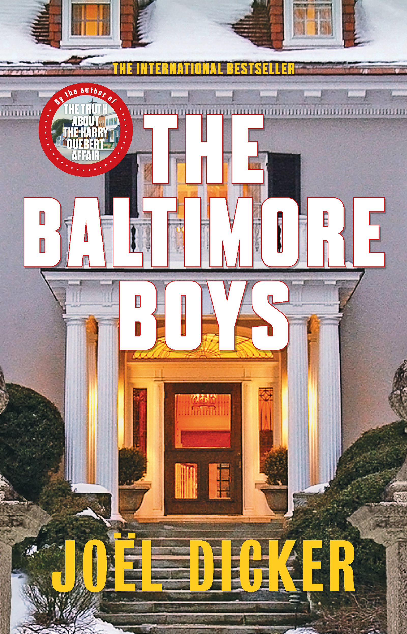 Image result for Fiction Baltimore Boys by Joel Dicker
