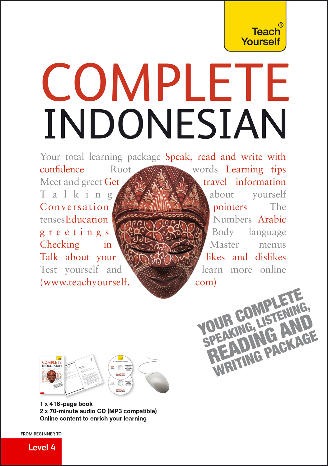 Complete indonesian beginner to intermediate course learn to read indonesian languages indonesian bahasa indonesia grammar vocabulary speaking pronunciation skills listening skills reading skills m4hsunfo