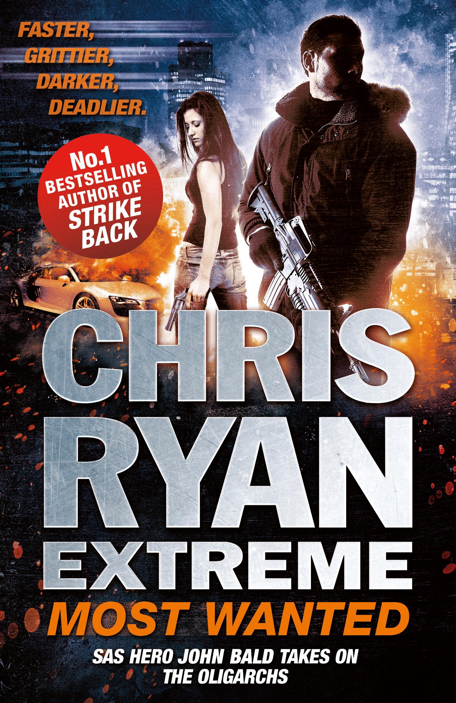 Chris Ryan Extreme Most Wanted Disavowed Desperate Deadly By