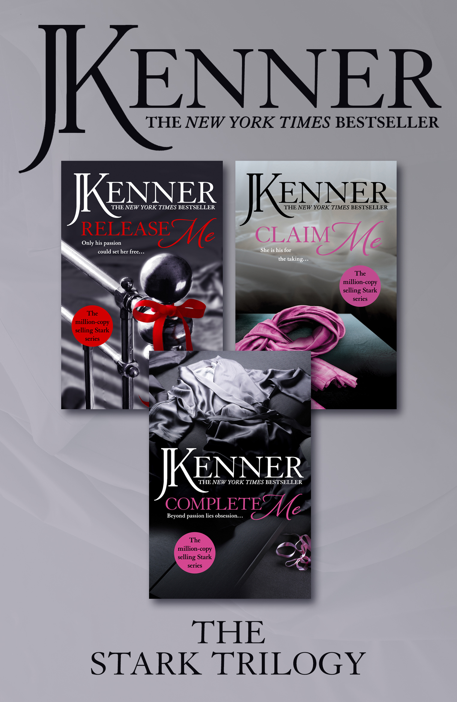 The Stark Trilogy: Release Me, Claim Me, Complete Me by J. Kenner - Books -  Hachette Australia
