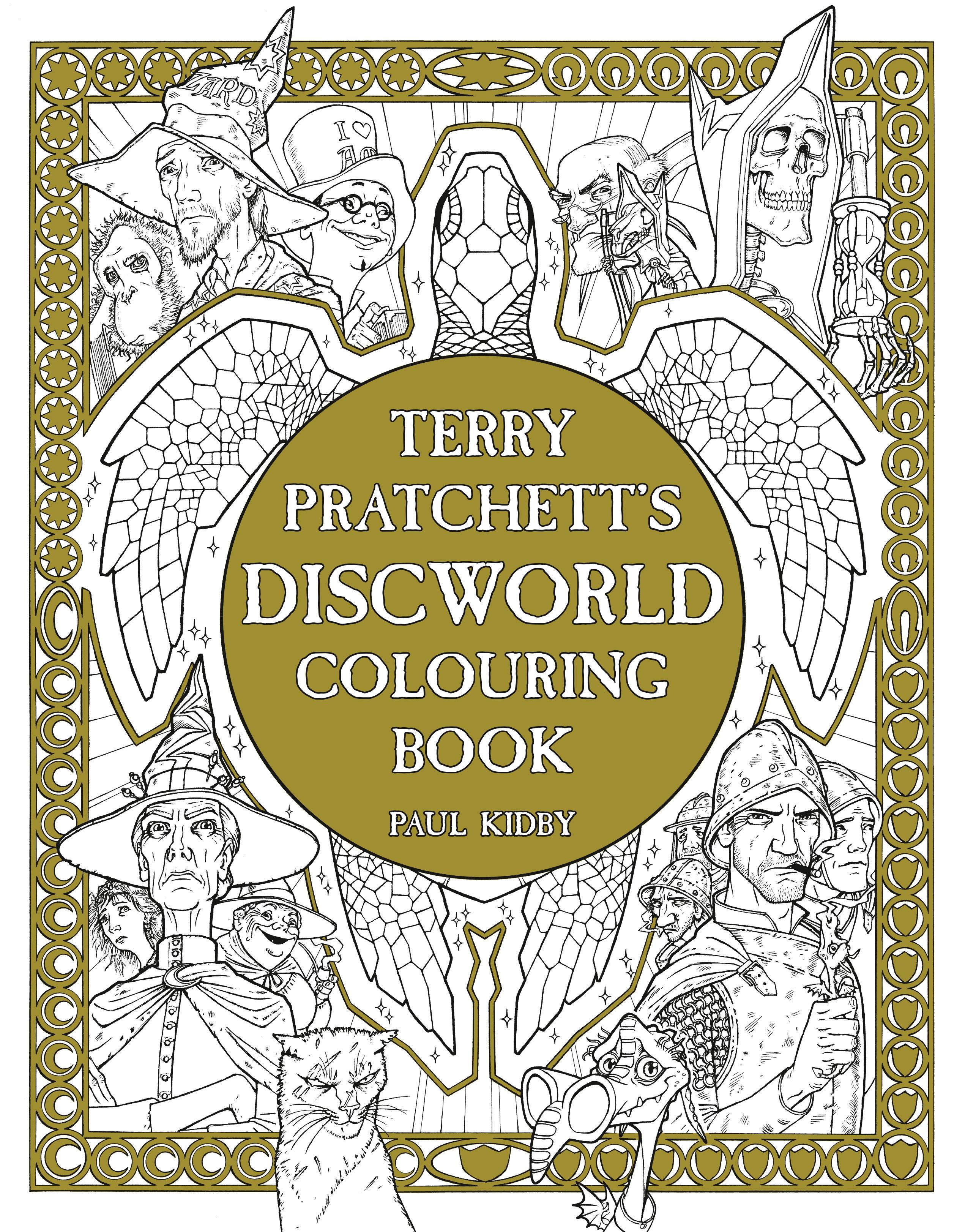 Terry Pratchetts Discworld Colouring Book