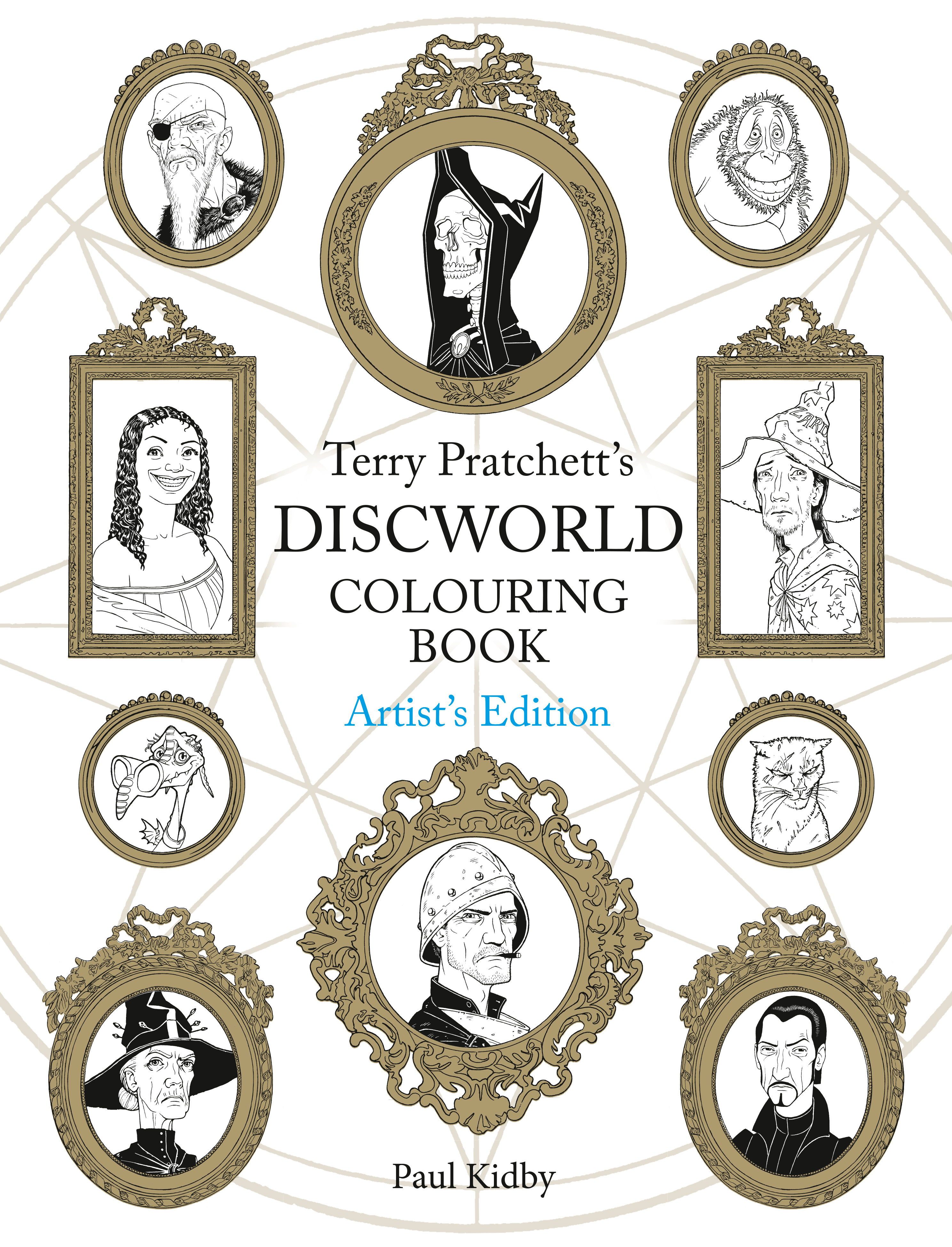 Terry Pratchetts Discworld Colouring Book Artists Edition