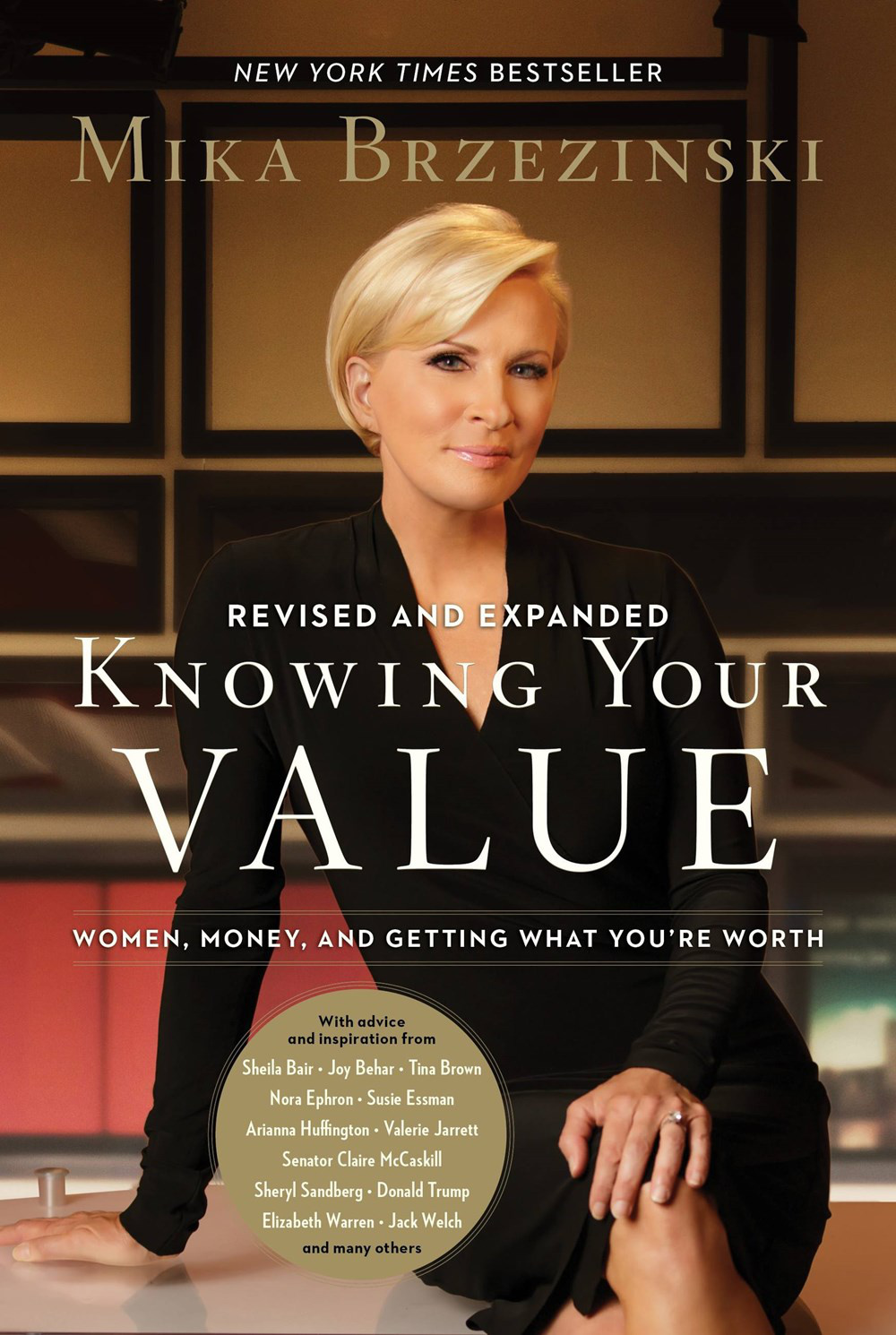 Books · Mika Brzezinski · Knowing Your Value: Women, Money and Getting What  You're Worth · Download Image