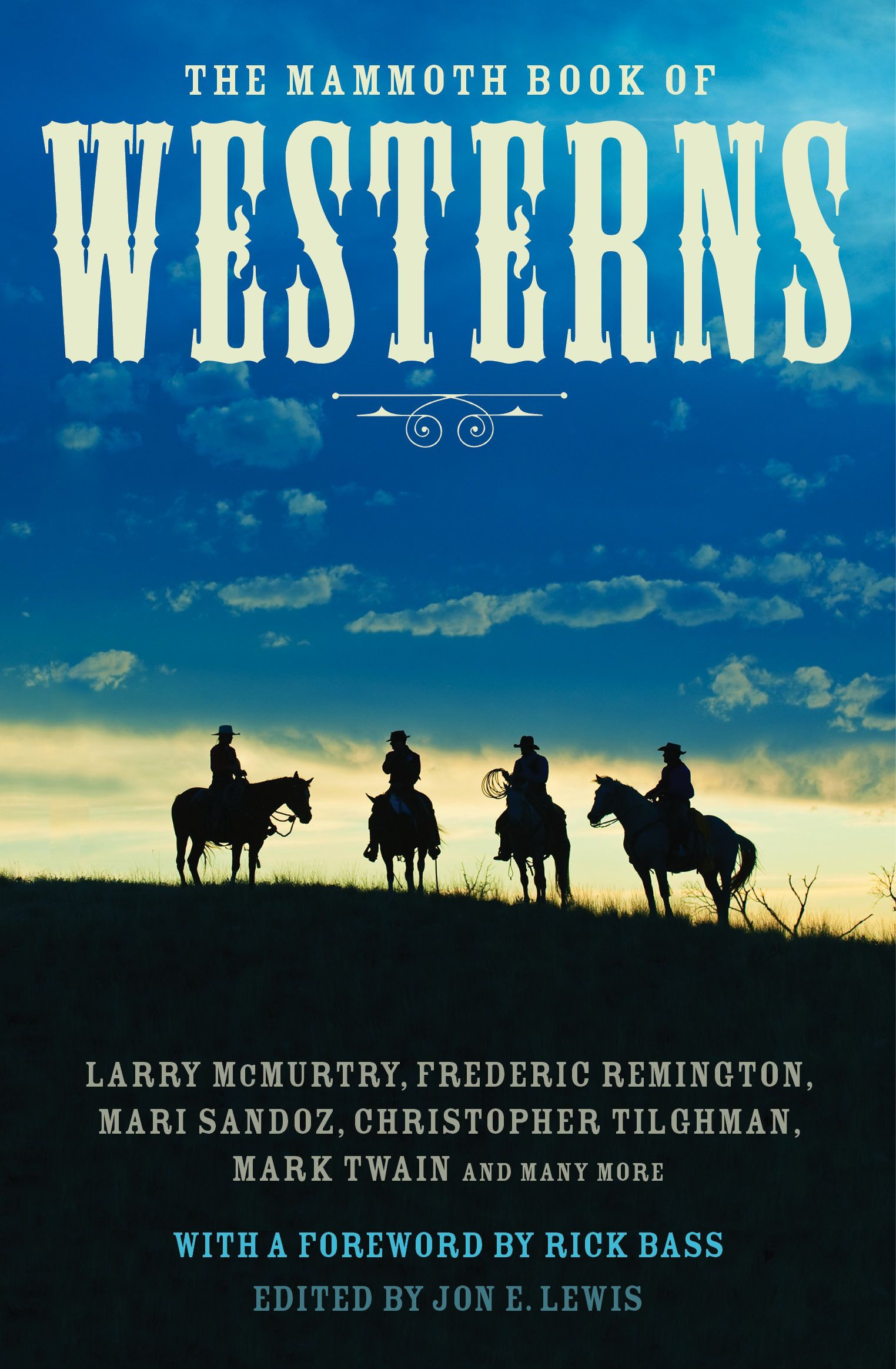 Image result for the mammoth book of westerns book cover