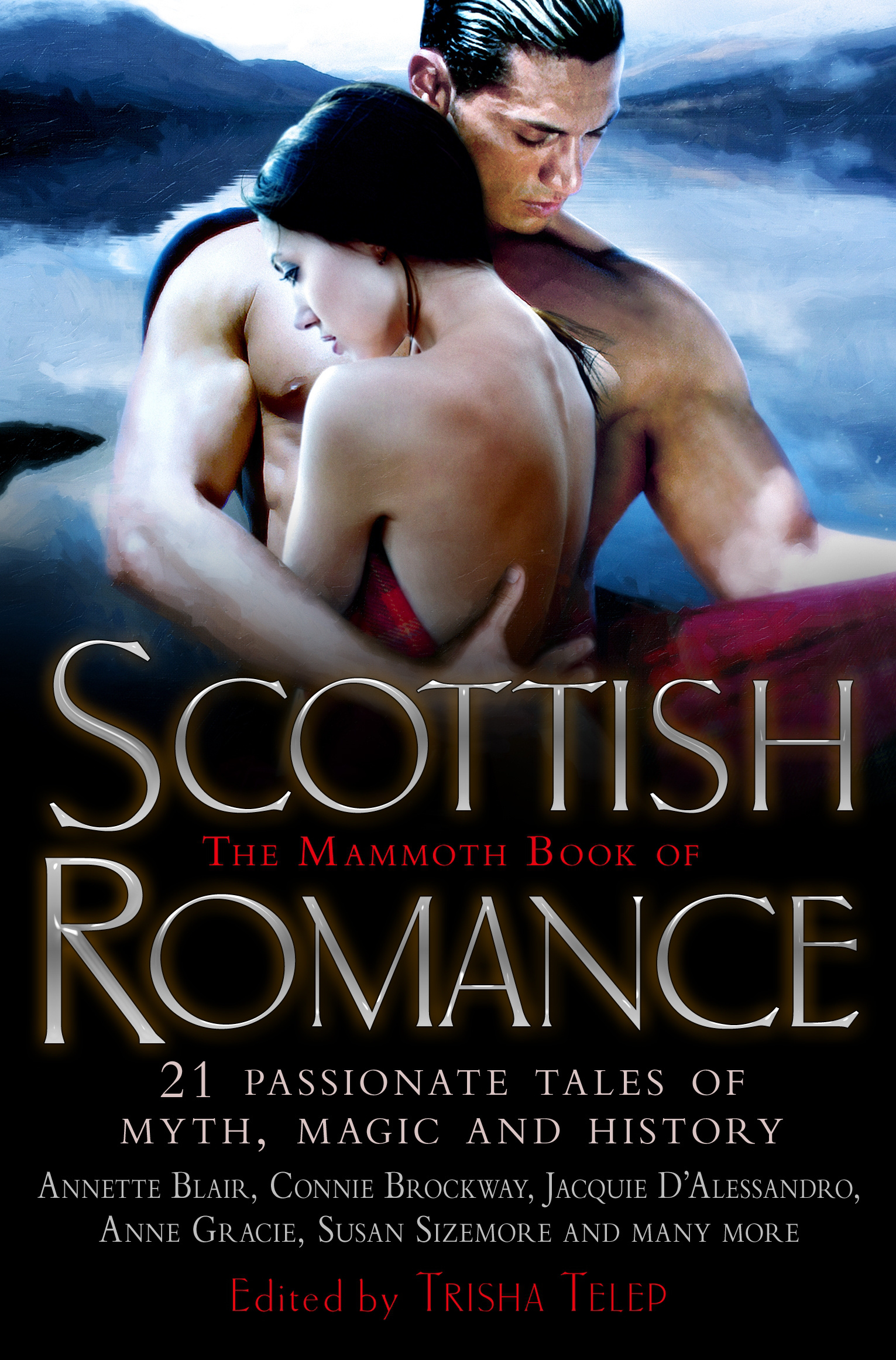 Image result for the mammoth book of scottish romance book cover